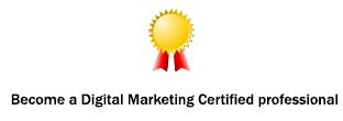 advanced digital marketing course certificate in bangalore
